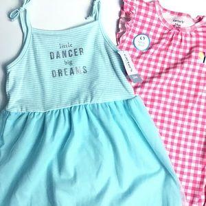 Carter's | NWT Baby Girl's Sundress & Romper - 24m
